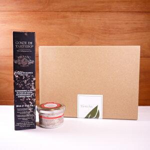 ウルバーニ社 黒トリュフオイル 250ml 黒トリュフ塩 100g セット 高級 ギフト ボックス付 イタリア産 プレゼント 内祝い 引き出物