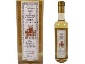 アンドレアミラノ社 白バルサミコ酢 デルドーモ 500ml イタリア産 ホワイトバルサミコ ビネガー
