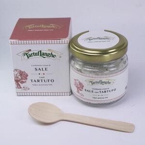 タルトゥフランゲ 黒トリュフ塩(サマートリュフ) 90g 木のスプーン付き