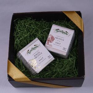 タルトゥフランゲ社 白トリュフ塩 黒トリュフ塩 セット 高級 ギフト ボックス付 イタリア産 プレゼント