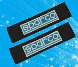 スパルコSPARCOのシートベルトカバーパッド(2枚セット)のエンブレム