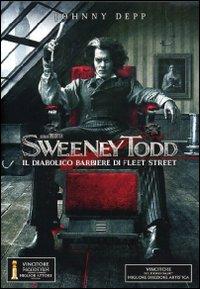 スウィーニートッドSweeney Todd 映画DVDでイタリア語の学習