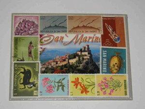 サンマリノ国の切手,イタリアの切手1枚限定です