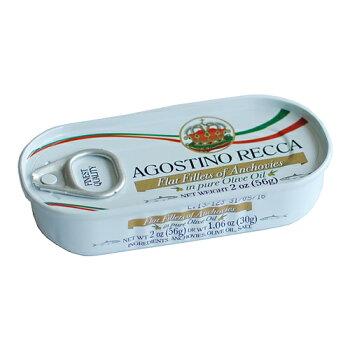 アンチョビフィレオリーブオイル漬け56g(アゴスティーノレッカ)Filettod'alice/AgostinoRecca