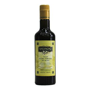 """エクストラヴァージンオリーブオイル""""ヌオーヴォ""""500ml(サルバーニョ)Olioextravergined'oliva""""Nuovo""""0.5LSalvagno"""