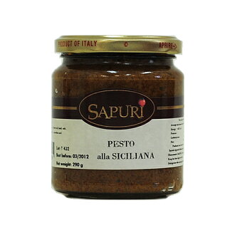 西西里粘贴 290 g (agromonte) 香蒜酱汁 alla siciliana Agromonte