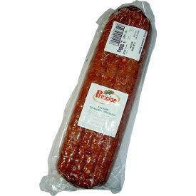 サラメ スピアナータ ロマーナ約2.5kg(プリンチペ)Salame Spianata Romana / Principe※2kg〜3.5kgの物を\5,000/kgで計算の上、正確な重さと価格はあらためてご連絡させて頂きます。