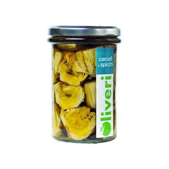 切断的karuchofi(atichoku)的橄榄油腌290g(oriveri)Carciofi a spicchi/Oliveri
