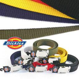 日本製造Dickies Dickies GI皮帶卡其色系短褲牛仔褲工作服能調節男子的皮帶(5色/黑色白紅深藍黄色)(到能送在定形以外的郵件的/1個)