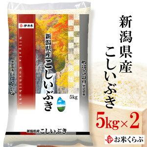 精米 米 10kg(5kg×2) 令和元年産 伊丹米 新潟県産こしいぶき 白米 熨斗承ります