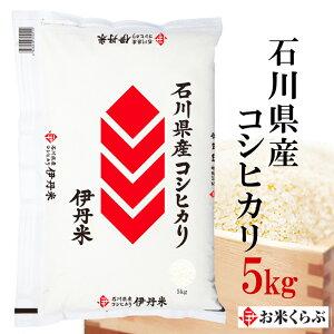 新米 米 5kg 令和2年産 伊丹米 石川県産コシヒカリ 5kg 白米 お歳暮 熨斗承ります