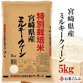 新米 精米 お米 5kg 特別栽培米 令和元年産 伊丹米 宮崎県産ミルキークイーン 5kg 白米