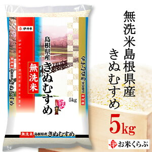 5kg 令和元年産伊丹米 無洗米島根県産きぬむすめ 5kg 白米 セール中!