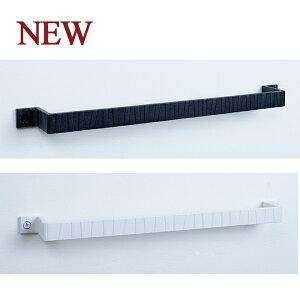 ロートアイアン タオルハンガーウッディ黒白 長さW450 ITC オリジナル製品