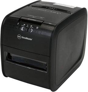 GBC シュレッダー 家庭用 小オフィス用 自動細断A4コピー用紙60枚 連続使用約6分 プラスチックカードも細断可能 ダストボックス15L オートフィード時約60枚収容 クロスカット オートフィード
