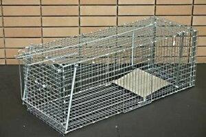 中型動物捕獲器L型 対象害獣アライグマ タヌキ ハクビシン対応のサイズ・当商品はメーカー直送商品となりますご注文後メーカーに在庫確認を致しますメーカーに在庫がない場合は予め