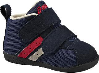 【32%OFF】アシックス ★【ASICS】すくすく (スクスク) コンフィ FIRST MS FW 50 ネイビーブルー 子供靴 キッズシューズ