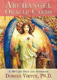 大天使オラクルカード 日本語版説明書付 (ドリーン・バーチューオラクルカードシリーズ) オラクルカード オラクル 占い
