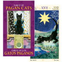 タロットカード ミニチュア カード 78枚 占い 【タロット・オブ・ペイガン・キャッツ ミニ TAROT OF PAGAN CATS MINI…