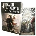 タロットカード 78枚 ウェイト版 タロット占い 【 ヘブン&アース タロット Heaven & Earth Tarot 】 日本語解説書付…
