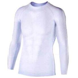 おたふく 冷感・消臭パワーストレッチ長袖クルーネックシャツ ホワイト:JW-623 <おたふく手袋>