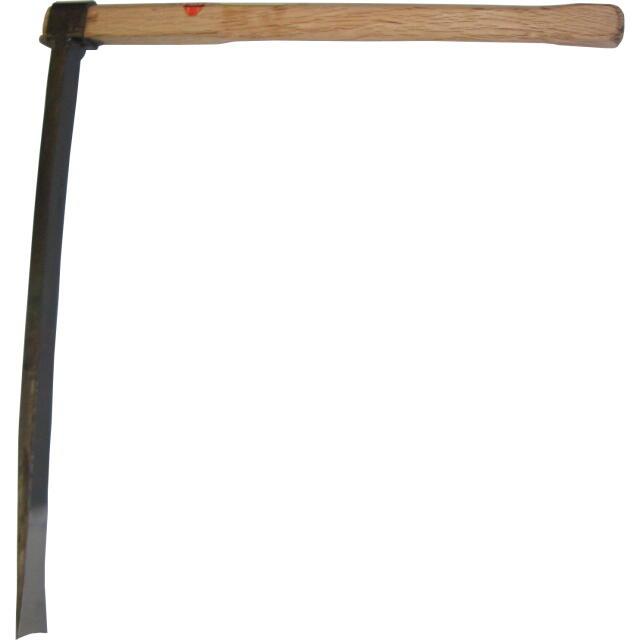 別注 讃岐型竹の子掘り鍬 大 600mm(2尺)本樫柄付 :No.SS-100 <正和園芸>