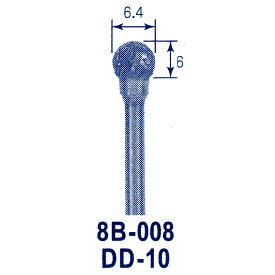 東京オートマック 木彫機 回転工具用 超硬バー DD-10(8B−008) #3400<AUTOMACH>