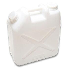 【20L ポリ缶(白)】【10個セット】【送料込み】【水缶】【レジャー】【ポリタンク】【20L】【水タンク】【ポリ缶】【ノズル付き】