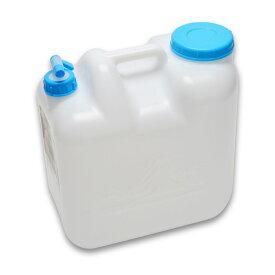 【ウォータータンク20L】【ポリ缶(白)】【コック付】【水缶】【レジャー】【ポリタンク】【20L】【ポリ缶】