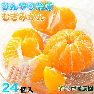 プレゼント 内祝 アイス 果物 みかん 冷凍 有田みかん 24個入 無添加 美味しい おいしい シャーベット ソルベ