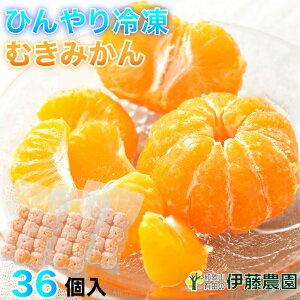 プレゼント 内祝 アイス 果物 みかん 冷凍 有田みかん 36個入 無添加 美味しい おいしい シャーベット ソルベ