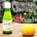 伊藤農園 100%ピュア果汁 じゃばら果汁100ml × 5本入【送料無料】