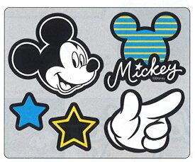 【メール便OK】S&C レザーステッカー ディズニー ミッキー DMC9