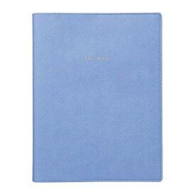 マークスシステム手帳 A5正寸 バインダー トライアルリフィル入り 無地 ブルー ODR-DC01-BL