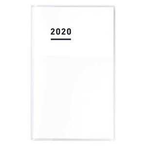 【送料無料】コクヨ ジブン手帳 mini 2020年ダイアリー B6スリム 11月始まり ホワイト ニ-JCMD1W-20