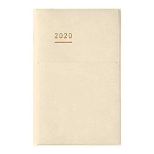【送料無料】コクヨ ジブン手帳 2020年ダイアリー B6スリム 11月始まり クリーム ニ-JCMD2LY-20