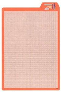 MDS 下敷き 大人のシタジキ Vol.4 A5 文具柄3 38-032