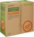 エレコム ELECOM LANケーブル 300m 自作用 RoHS指令準拠 CAT6 ライトグレー LD-CT6/LG300/RS
