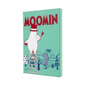 モレスキン ムーミン限定版(横罫) コレクターズエディション ホワイト/ラージサイズ ミニポスター付き