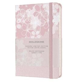 モレスキン 2020年サクラ限定版ノートブック(横罫) ダークピンク ポケットサイズ LESU03MM710