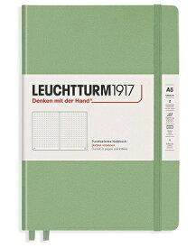 ロイヒトトゥルム ノート A5 ドット方眼 セージ 361584 正規輸入品