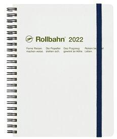 デルフォニックス 2022年 手帳 ロルバーンダイアリー A5 (マンスリー) 120003-100 ホワイト
