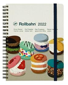 デルフォニックス 2022年 手帳 ロルバーンダイアリー A5 (マンスリー) メレンダ 120010-100 ホワイト