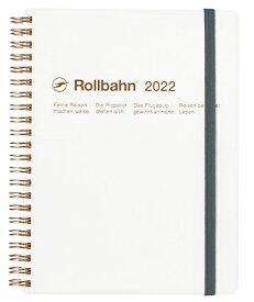 デルフォニックス 2022年 手帳 ロルバーンダイアリー A5 (マンスリー) タスカ 120030-100 ホワイト