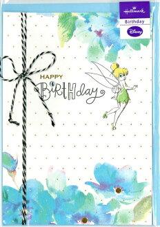 Loconeko Tinker Bell Hallmark Birthday Greeting Cards