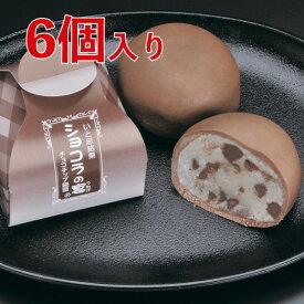 ショコラの宴(ココアブラウン) 6個入り        /個包装 甘さ控えめ チョコスイーツ ギフト プレゼント プチギフト お返し