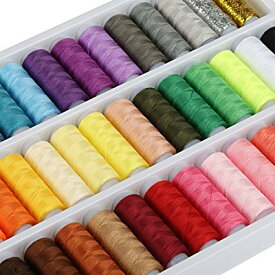 糸かけ曼荼羅の制作用糸セット 39色