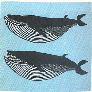 エコバックの代わりに kata kata むす美104 風呂敷 ナガスクジラ