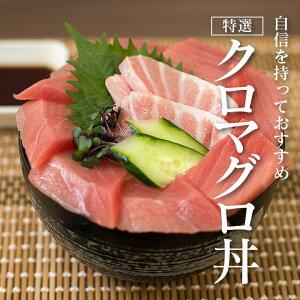 【特選】クロマグロ丼 国産 の 本マグロ を使った高級 鮪丼 鉄火丼 大トロ 中トロ 赤身 など 本まぐろ を120g♪ お中元 にも! マグロ漬け丼 にしても美味しいです。