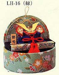 ◆端午のたまて箱 [LH-16 (みどり)]◆パナミ クラフト 和調手芸 端午の節句/ちりめん細工/手作りキット